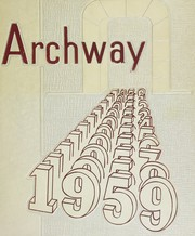 1959 Edition, Richmond Hill High School - Archway Yearbook (Richmond Hill, NY)
