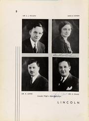 Page 12, 1932 Edition, Abraham Lincoln High School - Landmark Yearbook (Brooklyn, NY) online yearbook collection
