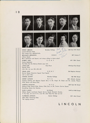 Page 14, 1932 Edition, Abraham Lincoln High School - Landmark Yearbook (Brooklyn, NY) online yearbook collection
