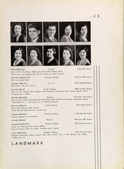 Page 17, 1932 Edition, Abraham Lincoln High School - Landmark Yearbook (Brooklyn, NY) online yearbook collection