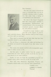 Page 6, 1953 Edition, Abraham Lincoln High School - Landmark Yearbook (Brooklyn, NY) online yearbook collection