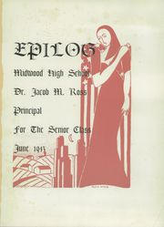 Page 5, 1943 Edition, Midwood High School - Epilog Yearbook (Brooklyn, NY) online yearbook collection