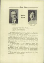 Page 12, 1929 Edition, Owego Free Academy - Tom Tom Yearbook (Owego, NY) online yearbook collection
