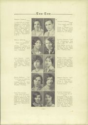 Page 15, 1929 Edition, Owego Free Academy - Tom Tom Yearbook (Owego, NY) online yearbook collection