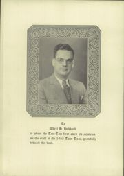 Page 6, 1929 Edition, Owego Free Academy - Tom Tom Yearbook (Owego, NY) online yearbook collection