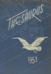 Union Endicott High School - Thesaurus Yearbook (Endicott, NY) online yearbook collection, 1953 Edition, Page 1