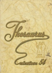 Union Endicott High School - Thesaurus Yearbook (Endicott, NY) online yearbook collection, 1954 Edition, Page 1