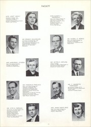 Page 15, 1954 Edition, Union Endicott High School - Thesaurus Yearbook (Endicott, NY) online yearbook collection