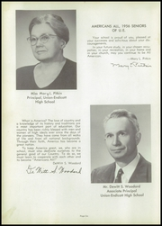 Page 10, 1956 Edition, Union Endicott High School - Thesaurus Yearbook (Endicott, NY) online yearbook collection
