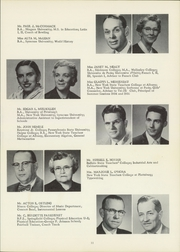 Page 15, 1957 Edition, Union Endicott High School - Thesaurus Yearbook (Endicott, NY) online yearbook collection