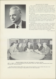 Page 8, 1957 Edition, Union Endicott High School - Thesaurus Yearbook (Endicott, NY) online yearbook collection