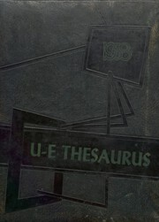 Union Endicott High School - Thesaurus Yearbook (Endicott, NY) online yearbook collection, 1958 Edition, Page 1