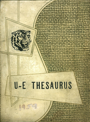 Union Endicott High School - Thesaurus Yearbook (Endicott, NY) online yearbook collection, 1959 Edition, Page 1