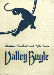 Page 1, 1953 Edition, Gowanda Central School - Valley Bugle Yearbook (Gowanda, NY) online yearbook collection