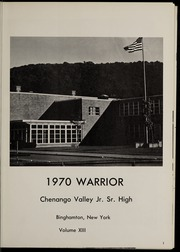 Page 5, 1970 Edition, Chenango Valley High School - Warrior Yearbook (Binghamton, NY) online yearbook collection