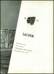Page 7, 1957 Edition, Massapequa High School - Sachem Yearbook (Massapequa, NY) online yearbook collection
