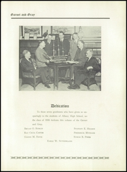 Page 9, 1936 Edition, Albany High School - Prisms Yearbook (Albany, NY) online yearbook collection