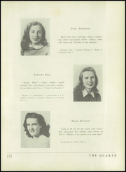 Page 11, 1944 Edition, Horace Greeley High School - Quaker Yearbook (Chappaqua, NY) online yearbook collection