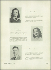 Page 12, 1944 Edition, Horace Greeley High School - Quaker Yearbook (Chappaqua, NY) online yearbook collection