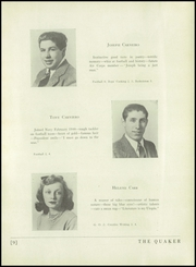 Page 13, 1944 Edition, Horace Greeley High School - Quaker Yearbook (Chappaqua, NY) online yearbook collection