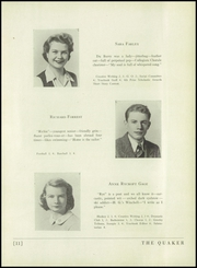 Page 15, 1944 Edition, Horace Greeley High School - Quaker Yearbook (Chappaqua, NY) online yearbook collection