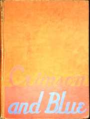 1945 Edition, Pulaski Junior Senior High School - Crimson and Blue Yearbook (Pulaski, NY)