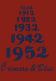 1952 Edition, Pulaski Junior Senior High School - Crimson and Blue Yearbook (Pulaski, NY)