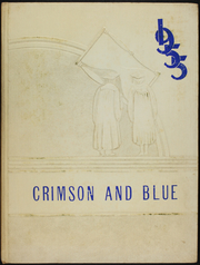 1955 Edition, Pulaski Junior Senior High School - Crimson and Blue Yearbook (Pulaski, NY)