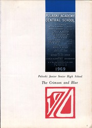 Page 5, 1970 Edition, Pulaski Junior Senior High School - Crimson and Blue Yearbook (Pulaski, NY) online yearbook collection