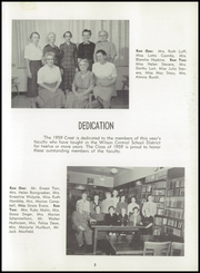 Page 7, 1959 Edition, Wilson Central School - Crest Yearbook (Wilson, NY) online yearbook collection