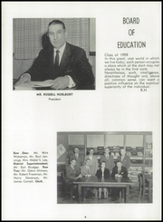 Page 8, 1959 Edition, Wilson Central School - Crest Yearbook (Wilson, NY) online yearbook collection