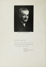 Page 6, 1954 Edition, Bayside High School - Triangle Yearbook (Bayside, NY) online yearbook collection