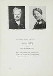 Page 8, 1954 Edition, Bayside High School - Triangle Yearbook (Bayside, NY) online yearbook collection