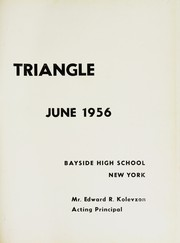 Page 5, 1956 Edition, Bayside High School - Triangle Yearbook (Bayside, NY) online yearbook collection
