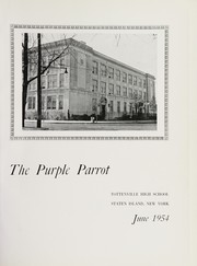 Page 5, 1954 Edition, Tottenville High School - Purple Parrot Yearbook (Staten Island, NY) online yearbook collection