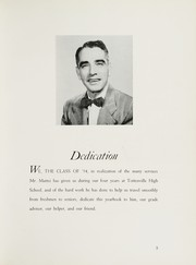 Page 7, 1954 Edition, Tottenville High School - Purple Parrot Yearbook (Staten Island, NY) online yearbook collection