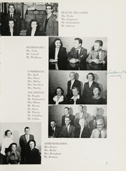 Page 9, 1954 Edition, Tottenville High School - Purple Parrot Yearbook (Staten Island, NY) online yearbook collection