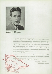 Page 10, 1945 Edition, Christopher Columbus High School - Anchor Yearbook (Bronx, NY) online yearbook collection
