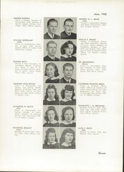 Page 15, 1942 Edition, William Cullen Bryant High School - Postscript Yearbook (Long Island City, NY) online yearbook collection