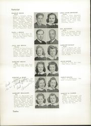 Page 16, 1942 Edition, William Cullen Bryant High School - Postscript Yearbook (Long Island City, NY) online yearbook collection