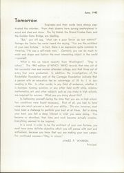Page 7, 1942 Edition, William Cullen Bryant High School - Postscript Yearbook (Long Island City, NY) online yearbook collection