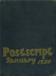 1950 Edition, William Cullen Bryant High School - Postscript Yearbook (Long Island City, NY)
