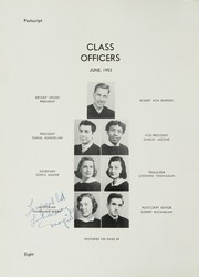 Page 12, 1953 Edition, William Cullen Bryant High School - Postscript Yearbook (Long Island City, NY) online yearbook collection