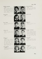 Page 13, 1953 Edition, William Cullen Bryant High School - Postscript Yearbook (Long Island City, NY) online yearbook collection