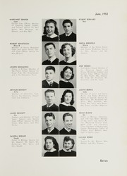 Page 15, 1953 Edition, William Cullen Bryant High School - Postscript Yearbook (Long Island City, NY) online yearbook collection