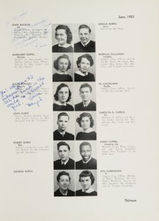 Page 17, 1953 Edition, William Cullen Bryant High School - Postscript Yearbook (Long Island City, NY) online yearbook collection