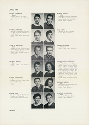 Page 17, 1958 Edition, William Cullen Bryant High School - Postscript Yearbook (Long Island City, NY) online yearbook collection