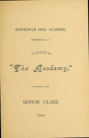 Page 3, 1890 Edition, Newburgh Free Academy - Graduate Yearbook (Newburgh, NY) online yearbook collection