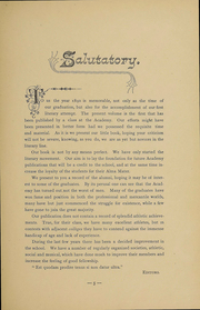 Page 7, 1890 Edition, Newburgh Free Academy - Graduate Yearbook (Newburgh, NY) online yearbook collection