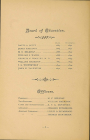 Page 8, 1890 Edition, Newburgh Free Academy - Graduate Yearbook (Newburgh, NY) online yearbook collection